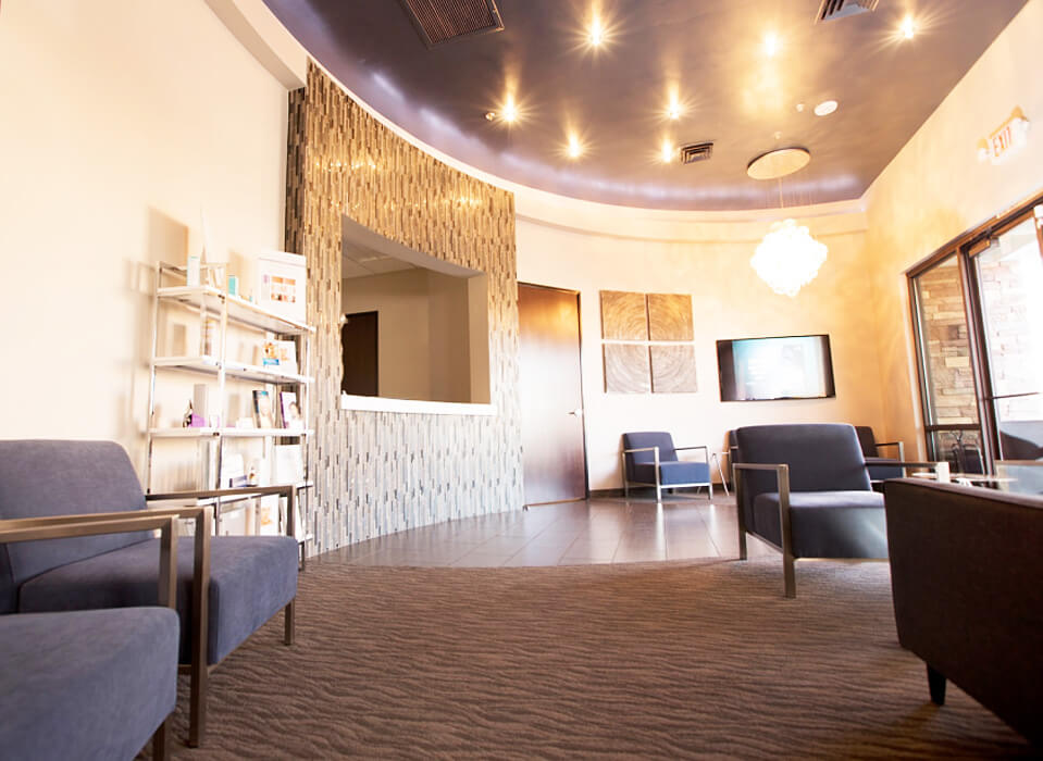 surgispa cosmetic and plastic surgery patient waiting room in las vegas and henderson