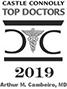 castle connolly top doctors 2019 award logo