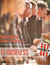 in business las vegas magazine cover