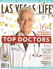las vegas life top doctors magazine cover