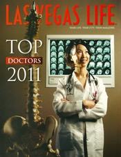 las vegas life top doctors 2011 magazine cover