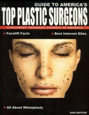 guide to america's top plastic surgeon 2008 magazine cover