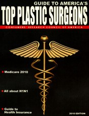 guide to america's top plastic surgeons 2010 magazine cover