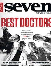 vegas seven best doctors 2012 magazine cover