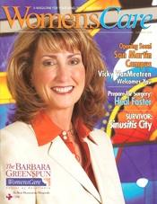 womens care magazine cover